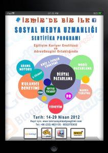 İzmir Sosyal Medya Uzmanlığı Eğitimi 2012
