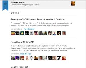 Twitter Rapor Sistemindeki Eksiklikler ve Tavsiye Sistemi