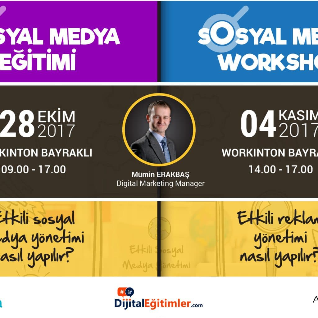 sosyal medya semineri